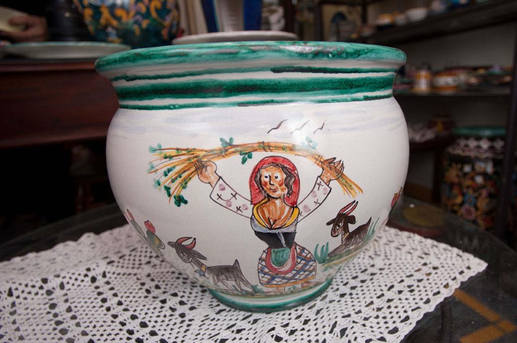 Ceramica romolo apicella vietri